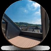 Эксплуатируемые крыши зданий